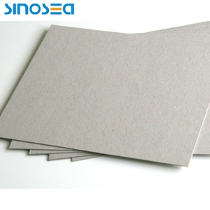 300-700gsm 0.5-1.1mm thickness grey cardboard paper sheets