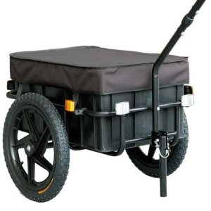 Motorcycle and Bike Wagon Enclosed Cargo Trailer with Covers