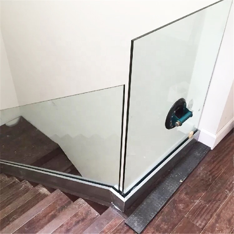 China modern design stability handrail glass aluminium u channel