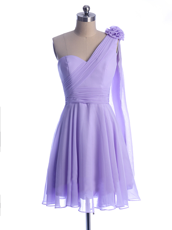 Popular Light Purple Chiffon Bridesmaid Dresses-Buy Cheap ...