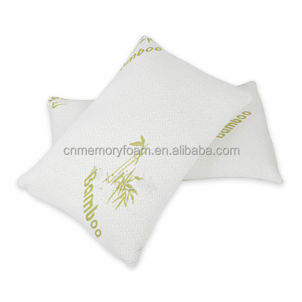 Comfortable Breathable Bamboo Shredded Memory Foam Pillow whilesale comfortable and healthy