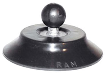 """National Products Ram-B-224 Marine Ram 1"""" Ball with 4"""" Suction Cup Base"""