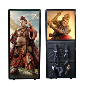 New Advertising Products LED Backpack Billboard Digital Walking Board/ Light Boxes Equipment Amazing Effects on Advertising
