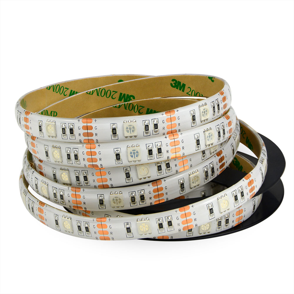 12V 5M 300leds multi colour 60led/m flexible led strip <strong>rgb</strong> 5050 full set with remote /supply adapter