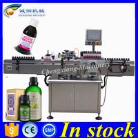 Cheap labeling machine for vials 10-500 ml,30ml vaccine bottle labeling machine