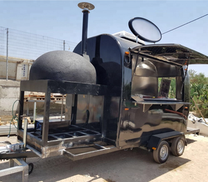 Unique design food truck mobile pizza carts fast food for sale usa vending truck pizza trailer food cart for sale