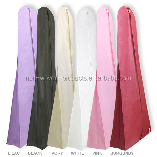 Nonwoven Wedding Dress Garment Bags For Ladies - Buy Custom Printed ...
