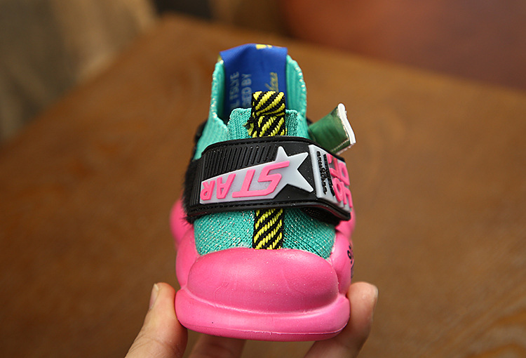 High quality sports basketball children shoes