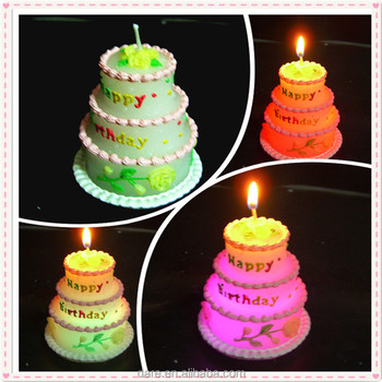 Unique Magic Birthday Cake Candles
