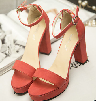 New Design Girls Shoes With Strap High Heel Women Summer Shoes ...