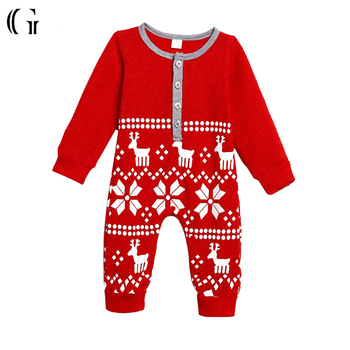 toddlers baby clothing winter christmas pajamas romper - Christmas Pjs Toddler