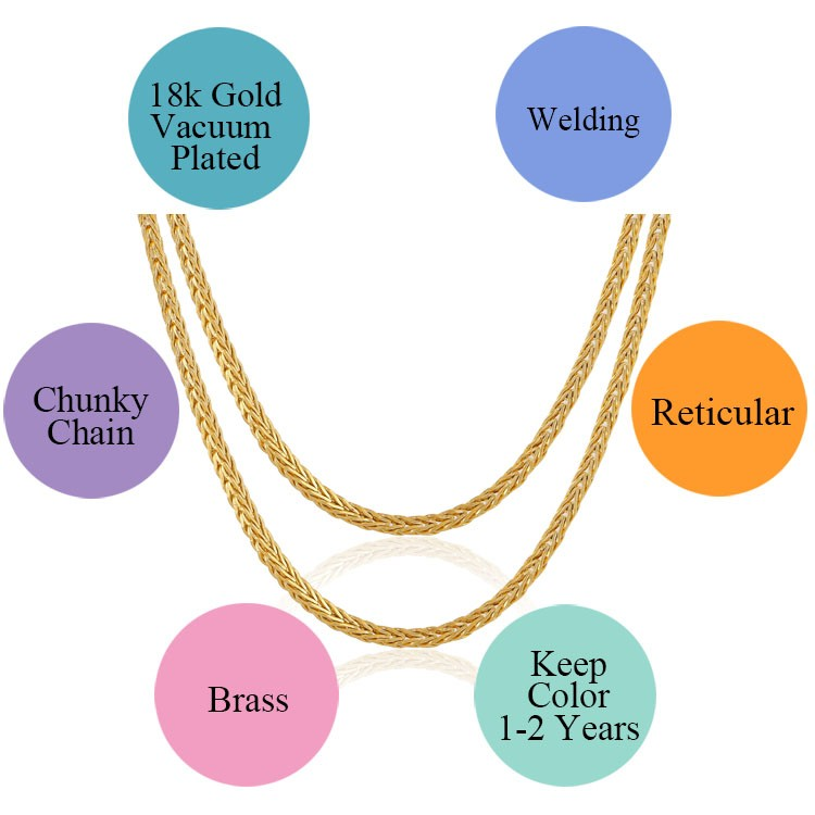 Athenaa New Gold Neck Chain Designs Girl,Copper Chain Necklace,Gold ...