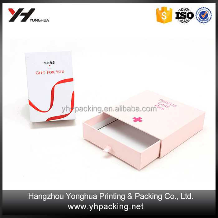 Wholesale Beautiful UV Coating Embossing popular gift packing paper box