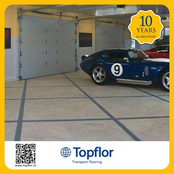 Topflor Pvc Covering Used Garage Floor Tiles For Sale Buy Garage