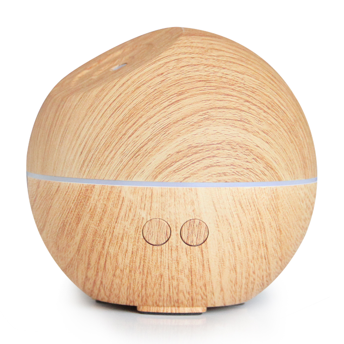 Portable Cool Mist Wood Grain Electric Ultrasonic Warm Light Wooden Aromatherapy Essential Oil Aroma Diffuser