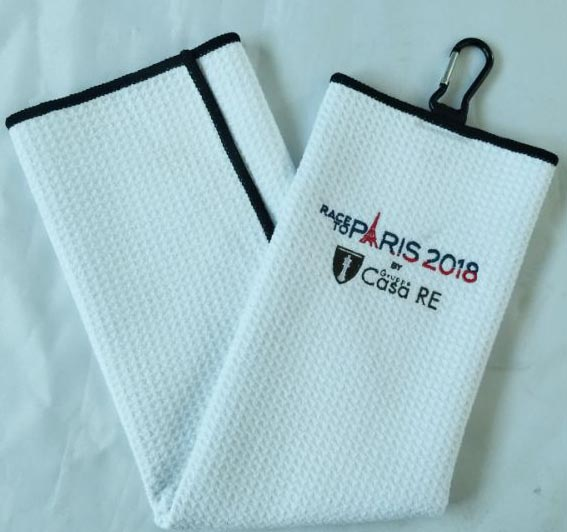 2019 newest microfiber sublimated waffle golf <strong>towel</strong>