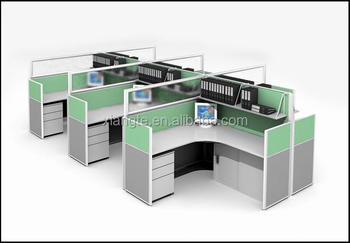 office workstation design. Practical Beautiful Design 6 Seat Office Workstation, Commercial Furniture Wood Tabble Workstation I