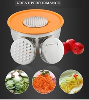 Stainless Steel Mixing Bowl with PP Lid & 3pcs