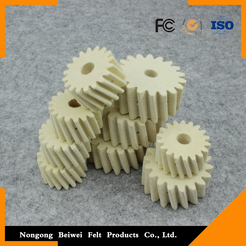 high density straight felt <strong>gear</strong> china supplier
