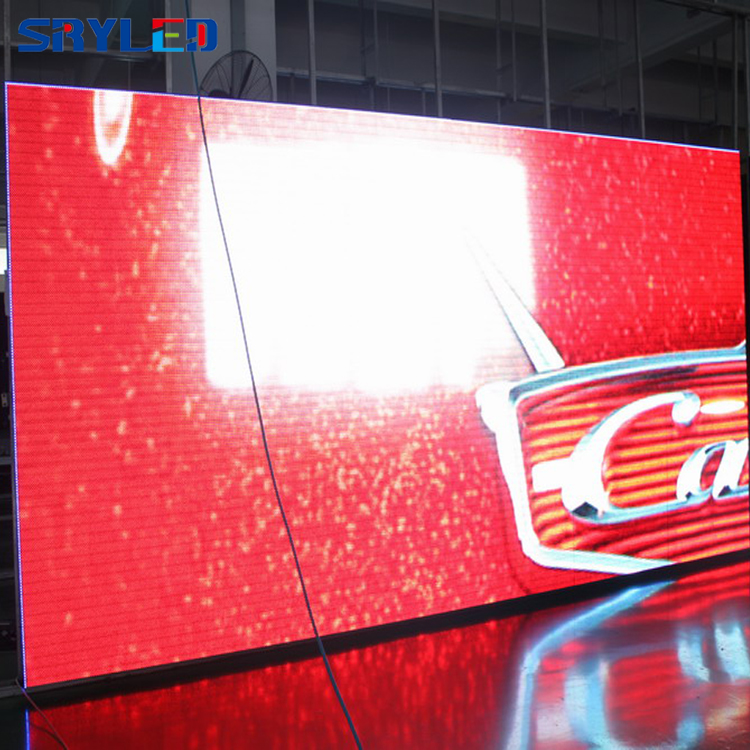 easy to install indoor p6 rental cabinet led panel display