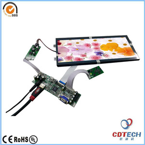 FOB ShenZhen 12.3Inch TFT module LCD screen display with HMI Industrial