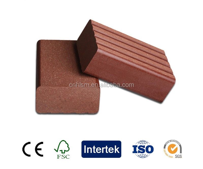 Anti-UV waterproof plastic wood plank flooring wpc railing clips
