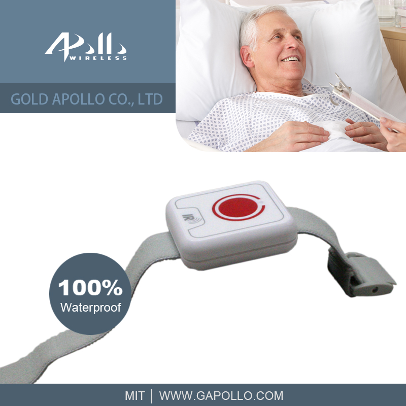 GOLD APOLLO - Patient Call Watch / Patient Call Bell / Nurse call system
