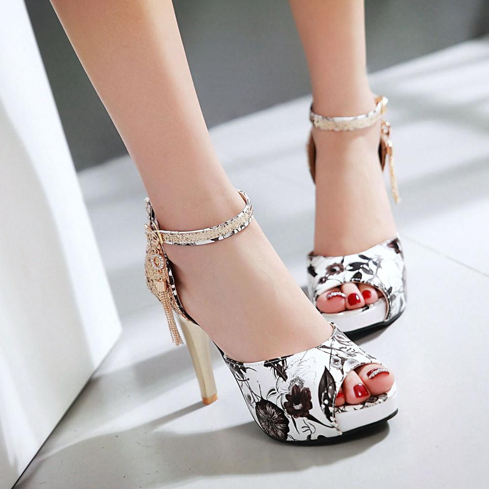 Flat heel sandals images - Simple Design Ladies Fancy Flat Summer High Heel Shoes Latest Design Women Casual Sandals