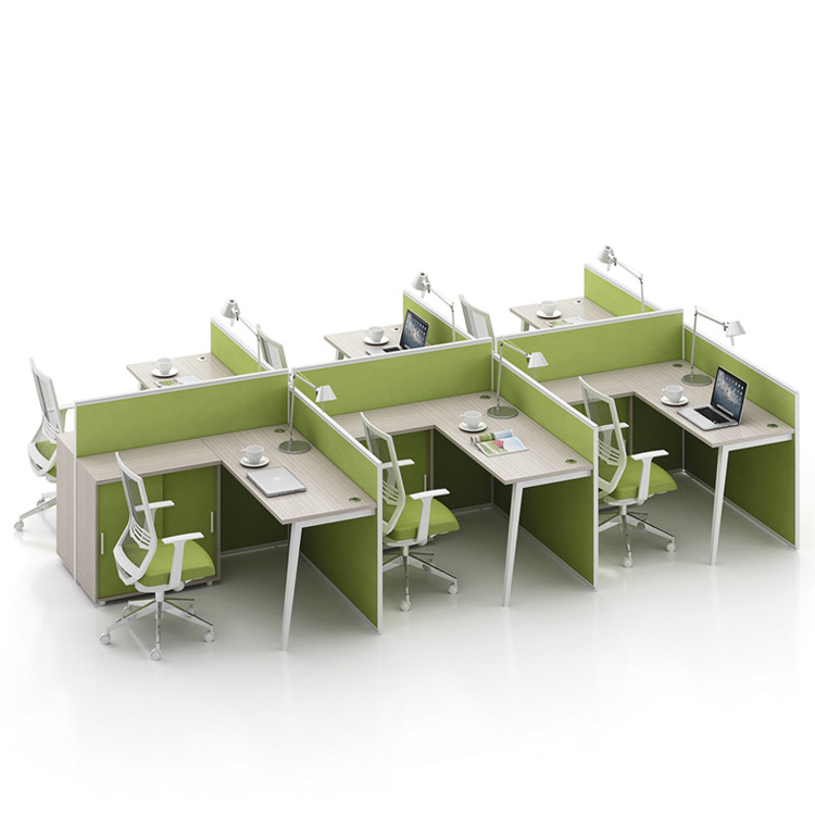 2019 wholesale price office 4 person workstation furniture desk