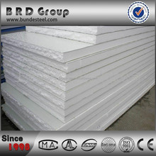 Dubai eps foam filled sandwich wall panel with best price
