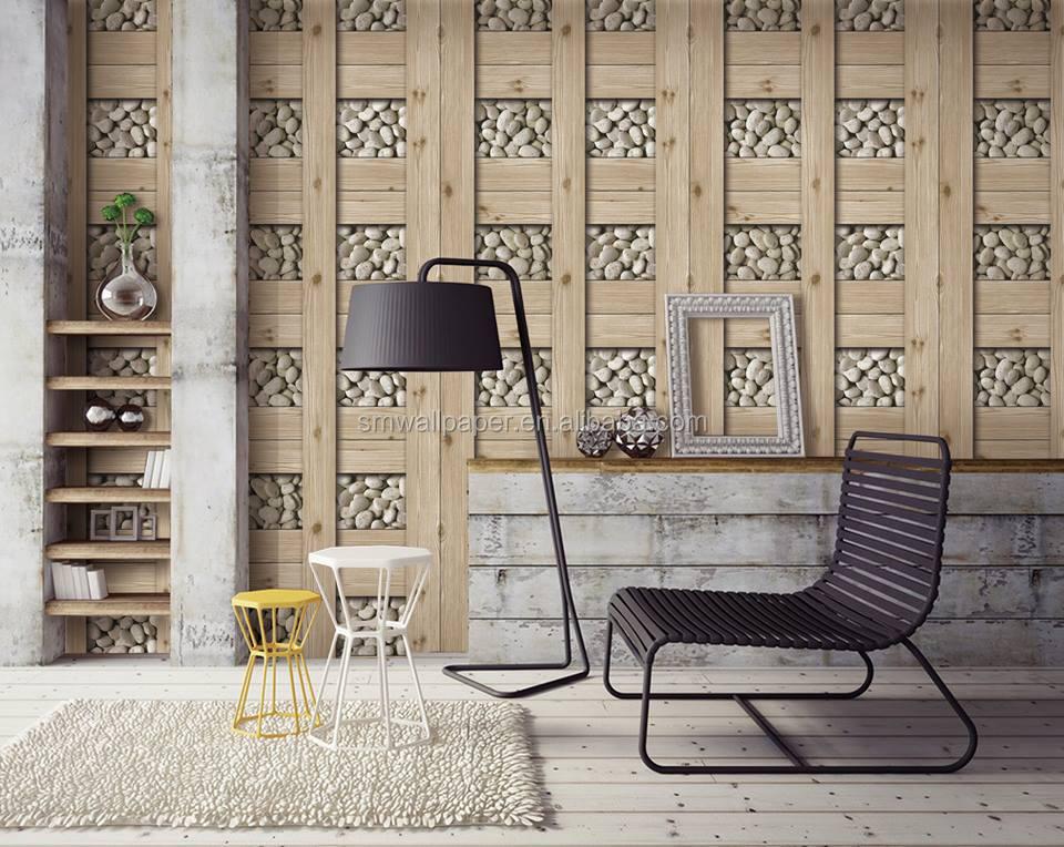 Goedkope prijs 2017 nieuwe klassieke moderne ontwerp waterdichte vinyl behang indian restaurant - Behang voor restaurant ...