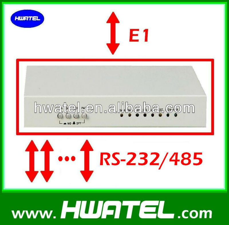 E1 to RS 422 232 485 data converter