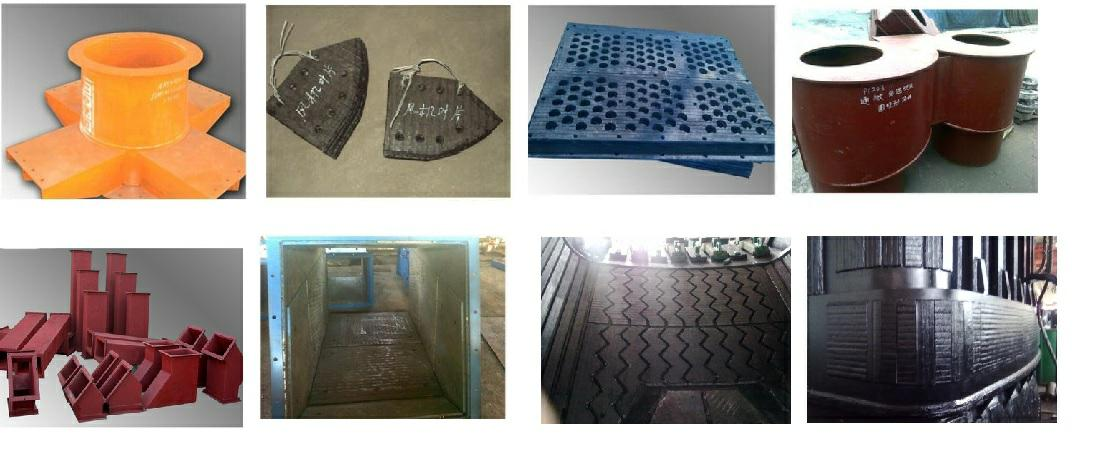 Hardfacing overlay bimetal wear resistant compound steel for mining crusher componemts