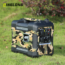 Best price 12v soundproof 2kva portable silent camping gasoline inverter generator for home use