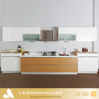 Melamine Small Modular Kitchen Designs With Price - Buy Modular ...