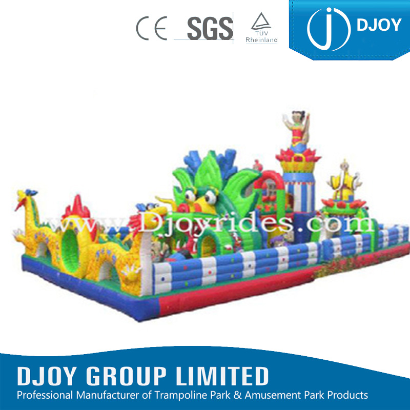 Funny Game Soft Kids Giant Fun City Inflatable