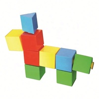 Children puzzle early education building blocks small plastic assembled toys