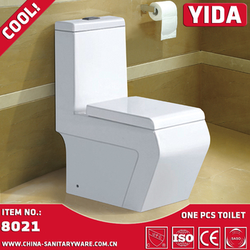 Wash Down YIDA Sanitary Ware One Piece Toilet Commode Price