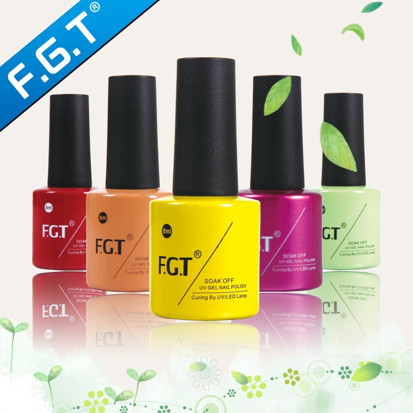 FGT High Quality convenient easy apply one step uv/led gel polish