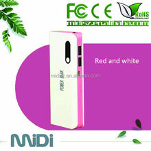 Wholesale 2014 new style cellphone lover portable charger solar power bank 50000mah