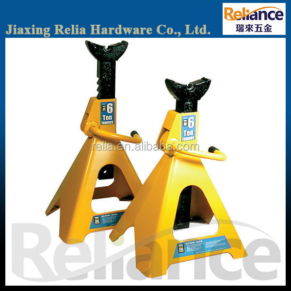 6 Ton Heavy Duty Jack, Jack Stand With Double Locks