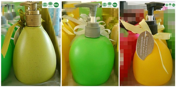 400ml anti-bacterial liquid hand wash with fruit shape soap tested by FDA CPSR MSDS