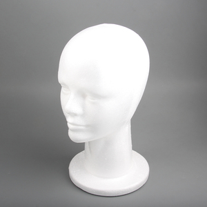 AliLeader Styrofoam Wig Head With Male Face