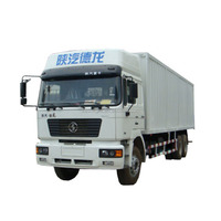 Shacman 6 x 4 heavy duty van truck for complex transport