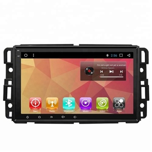 android car gps navigation system stereo dvd player for GMC