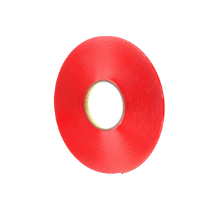 Super Strong Adhesion Red Double Sided Acrylic Adhesive Tape