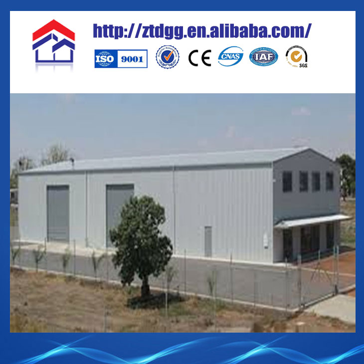 Light gauge steel low cost build a warehouse style home