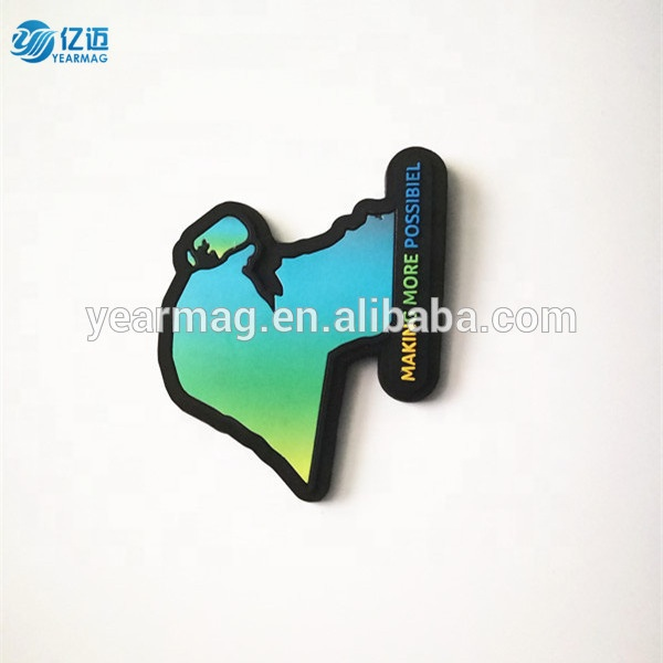Promotional Logo Printed Soft PVC Fridge Magnet 3d rubber fridge magnets with Good Quality Guaranteed from Shanghai Yearmag