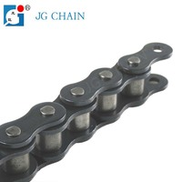 16A ansi standard 40mn steel material car parking transmission parts durable roller chains
