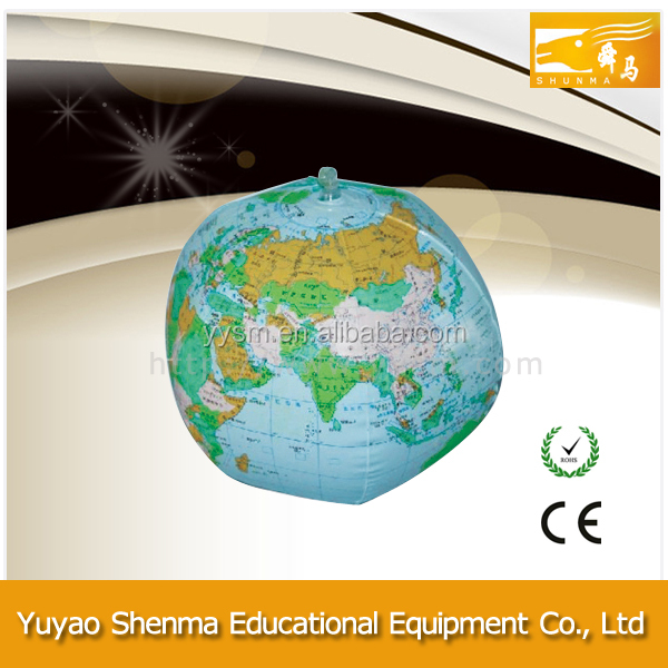 Custom big size world globe wholesale SM-G05 inflatable large world globe